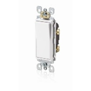 5601-P2W WHITE DECORA S/P SWITCH