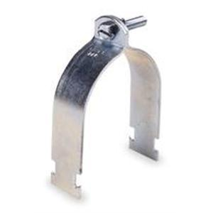 "Kindorf C-105-AL-1/2 Rigid Strut Strap, 1/2"", Aluminum, Galv-Krom"
