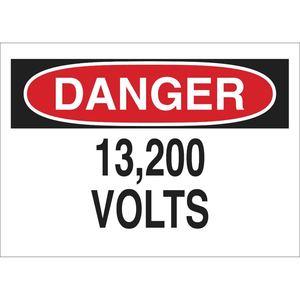 25569 ELECTRICAL HAZARD SIGN
