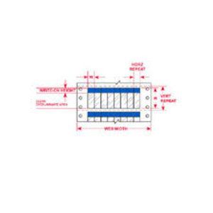 """DAT-85-292-BL 1.000 INX0.750""""  (25.40 MM"""