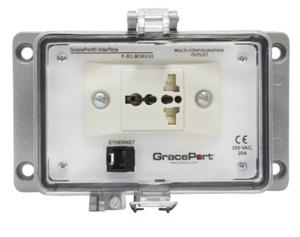 Grace Technologies P-R2-M3RUV0 Programming Port, Cat 5e Ethernet, Size M, Type 4-IP65