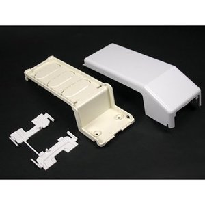 Wiremold 5574 Transition Fitting/ 5500 Series Raceway, Ivory