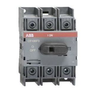Thomas & Betts OT30F3/B25 Disconnect, Non-Fused, 30A, 3P, 600VAC, Terminal Bolt Included