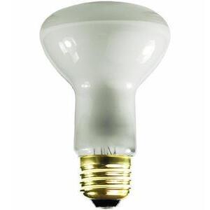 Satco S3849 Incandescent Reflector Lamp, R20, 45W, 130V
