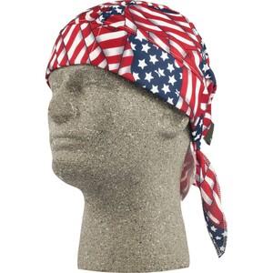 Lift Safety ACS-14F Skull Cap, American Flag