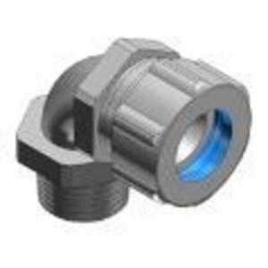 "Thomas & Betts 4970 3/4"" 90° Ranger™ Cord Connector, Iron, 0.125-0.375"""
