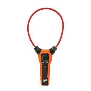 "Klein CL150 Flexible AC Current Clamp Meter, 18"" Flexible Clamp"