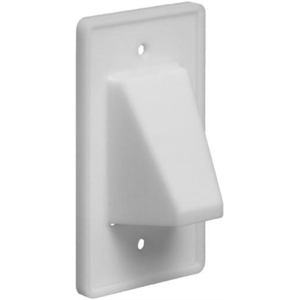 CE1 1 PC SCOOP PLATE WHITE