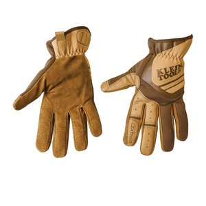 Klein 40226 Journeyman Leather Utility Gloves, Medium