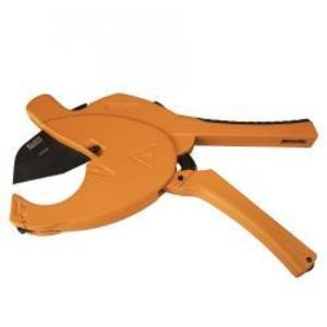 """Klein 50034 Large Capacity Ratcheting PVC Cutter, Cuts 1/2"""" to 2-1/2"""""""