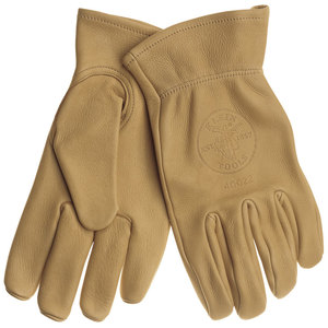 40021 COWHIDE WORK GLOVES MEDIUM