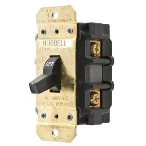 Hubbell-Wiring Kellems HBL7852D 50A 600V 2P DISC SW
