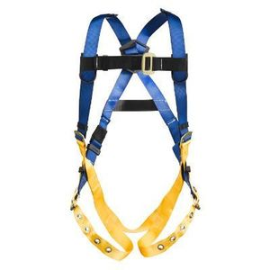 Werner Ladder H312004 LITEFIT Standard Harness, Tongue Buckle Legs, X-Large