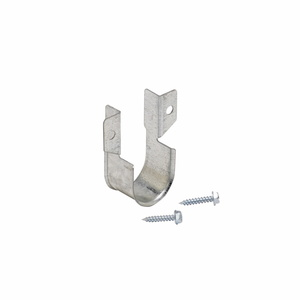 "Cooper B-Line B3690-1-ZN Pipe Hanger, Adjustable ""J"" Hanger, 1"", Steel/Zinc Plated"