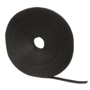 Panduit HLS-75R0 Hook & Loop Roll,75'L,.75W,Black,1RL
