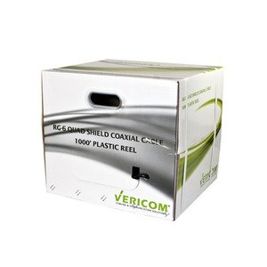 Vericom Global Solutions XRG06-02406 VERI XRG06-02406 RG-6 QUAD SHIELD