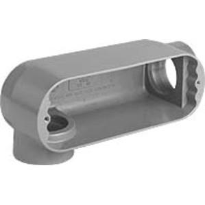 """Hubbell-Killark OLR-2M Conduit Body, Type: LR, Size: 3/4"""", Series 5, Malleable Iron"""