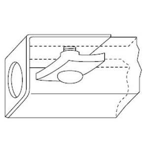 Kindorf G-979-3/4 END CAP STEEL