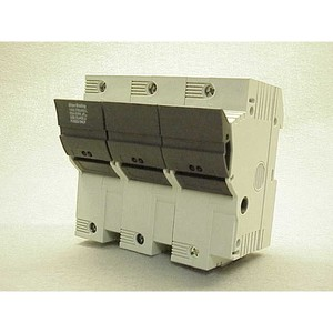Allen-Bradley 1492-FB3J60-L Fuse Holder, Class J, 60A, 3P, 110 - 600V, with Indicator
