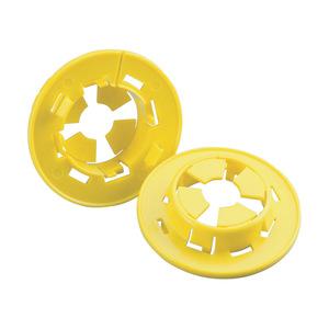 "nVent Caddy ESGP Bushing, Type: Snap-In, 1-11/32"", Yellow, Non-Metallic"
