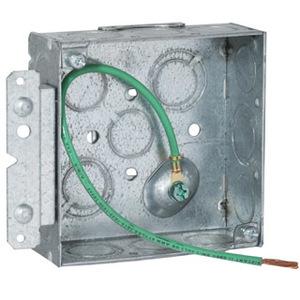 Hubbell-Raco 189HS RAC 189HS 4SQBXW/BKT&SPT&PGTL