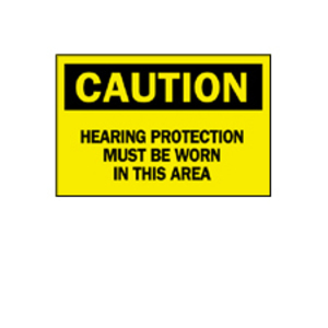 Brady 47101 BRA 47101 EAR PROTECTION SIGN