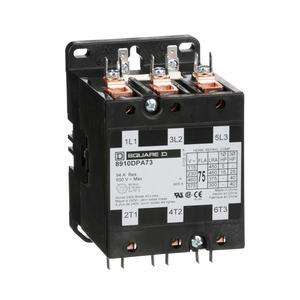 8910DPA73V02U1 CONTACTOR 600VAC 75AMP DP