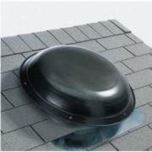 Ventamatic VXNRGTAMBL Power Attic Ventilator, Roof Mount, 1400CFM, Black