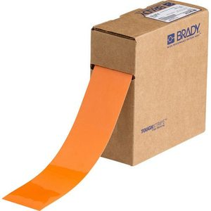 Brady 104316 2 IN X 100 FT B514 ORANGE FLOOR TAPE