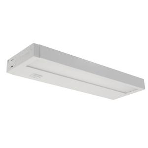 """Elco Lighting EUB29L30W LED Undercabinet, 29"""", 4 Watt, 3000K, 120V, White"""
