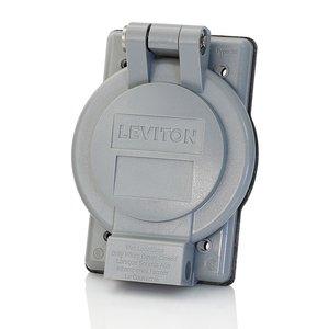 Leviton 7420-G LEV 7420-G GREY FLIPLID CVR