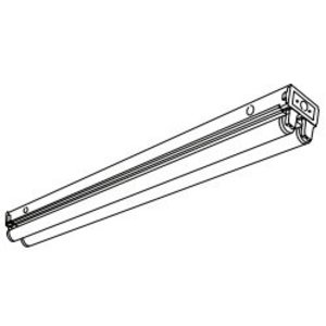Hubbell-Columbia Lighting CS4-232-EU General Purpose Strip, 4', 120/277V
