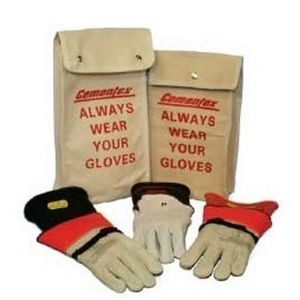 "Cementex IGK0-11-10B Insulated Electrical Glove Kit, Class 0, 11"", Size 10"