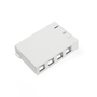 410894WP 4 PORT SURFACE BOX WHT