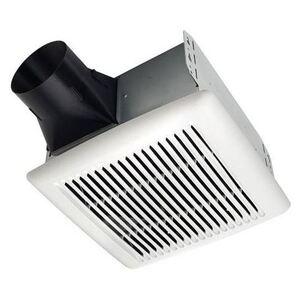 Broan AE110 110 CFM Ceiling Fan, Single Speed, Energy Efficient