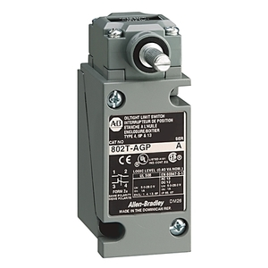 Allen-Bradley 802T-AGP Limit Switch, NEMA 4/13, Plug-In, Lever Type, Spring Return