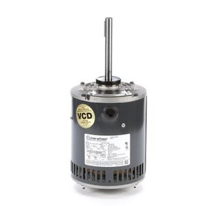 Marathon Motors X501 Motor, Open Air, 0.75HP, 0.56kW, 3.2/1.6A, 1140RPM, 230/460VAC, 56Y