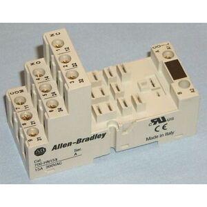 Allen-Bradley 700-HN153 Socket, 11-Blade, Guarded Screw Terminal, Panel or DIN Rail Mount