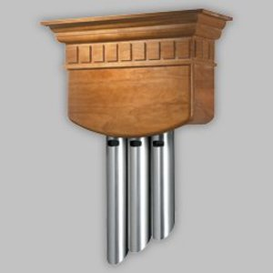 Nutone LA310CY Wired Chime, Type: Traditional Music, 3-Entrance Functionality
