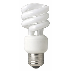 TCP 801009 Compact Fluorescent Lamp, Twister, 9W, 2700K