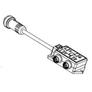 Woodhead 803P802 MIC MPIS 8 PORT W/MINI CONN.