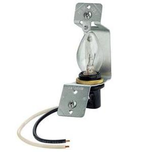 Leviton 2152 Lampholder Assembly, Use with Jewels or Louvre Plates