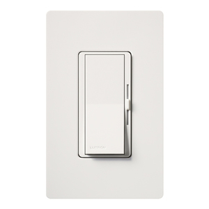 Lutron DVWFSQ-FH-WH DIVA DUO W/PL