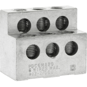 Square D PDC6MA20 CB POWER DISTRIBUTION CONNECTOR (1)