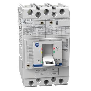 Allen-Bradley 140G-G6C3-C45 140G - Molded Case Circuit Breaker, G frame, 65 kA, T/M - Thermal Magnetic, Rated Current 45 A