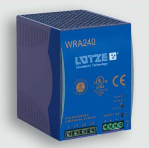 Lutze 722804 3-Phase Power Supply, WRA240-24