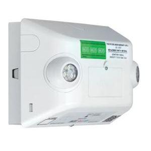 Hubbell-Dual-Lite EVHC6IDP-0-WM LED Emergency Light, EVHC, 6 Watts, White Finish