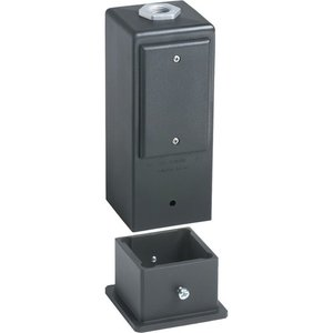 "Arlington GPD9B 9"" Two-Piece Deck or Post Mount Gard-N-Post"