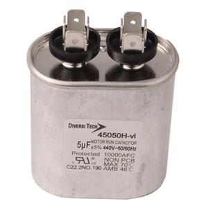 DiversiTech 45050H Motor Run Capacitor, 440V, 5uF