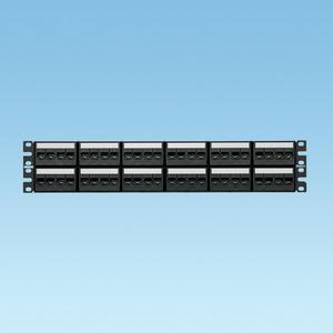 Panduit CPPKL6G48WBL 48 port Cat 6 patch panel TG kit with la